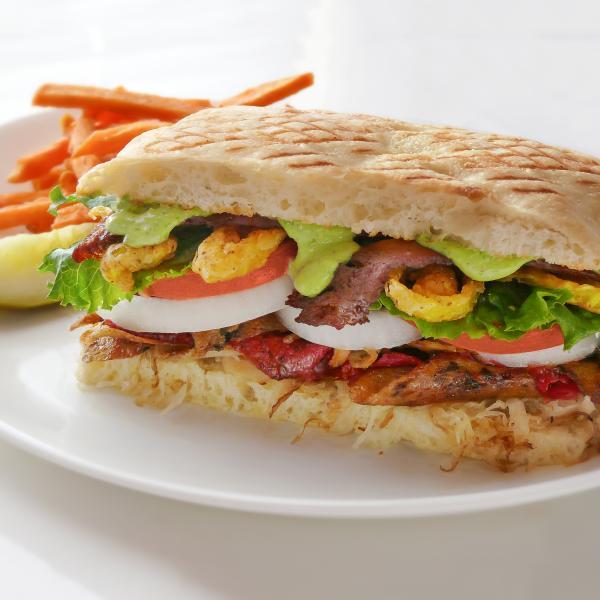 Beautiful Vegan Sandwiches