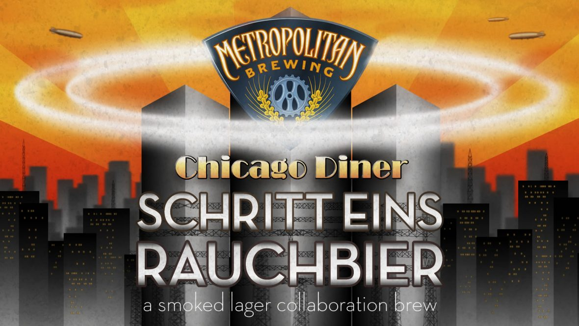 A collaboration between Metropolitan Brewing & The Chicago Diner, 2013